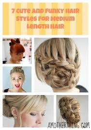 try hairstyles on my picture 7 cute hair styles for medium hair