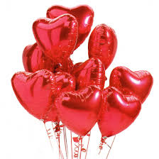 heart shaped balloons heart shaped balloons to barcelona