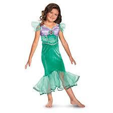 Amazon Halloween Costumes Kids Amazon Disney Ariel Sparkle Classic Kids Costume Toys U0026 Games