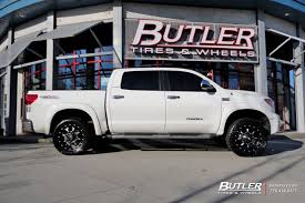 Truck Wheel And Tire Packages Toyota Tundra With 20in Fuel Krank Wheels Exclusively From Butler