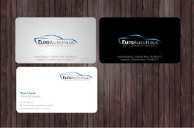 serious professional business card design for muhammad rizal