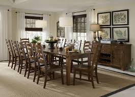 Dining Room Tables With Leaf by Solid Wood Leg Table With 3 Self Storing Leaves By Aamerica Wolf