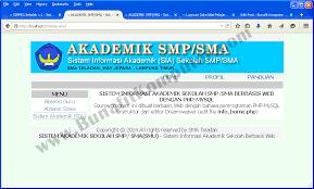 membuat database akademik dengan mysql program sistem akademik sekolah bunafit komputer