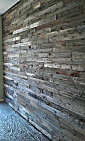 reclaimed weathered wood fireplace wall master bedroom and