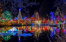 Outdoor Christmas Decorations Vancouver by 9 Places To See Christmas Lights In Vancouver