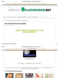 libros gratis matemáticas con solucionarios pdf gratis