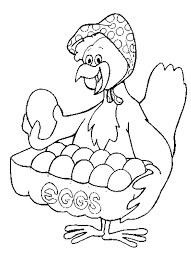 chicken coloring kids coloring