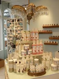 visual merchandising for lux beauty boutique in edmonton ab by