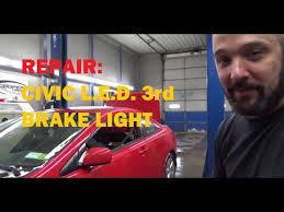 2008 honda civic third brake light honda civic led 3rd brake light youtube