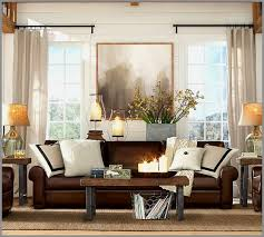 Living Room With Leather Sofa 48 Inspirational Brown Leather Sofa Living Room Living Room
