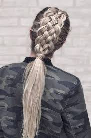 hair braided into pony tail 69 charming ponytail hairstyles to rev up your style game