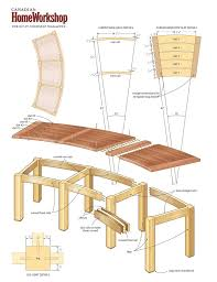 Wood Bench Plans Deck by Best 25 Curved Bench Ideas On Pinterest Outside Furniture Tree