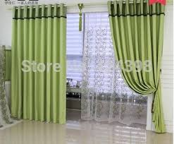 Green Color Curtains Cloth Fiber Picture More Detailed Picture About Morden High