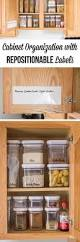 Organizing Kitchen Cabinets 138 Best Organizing Labels Images On Pinterest Pantry Labels