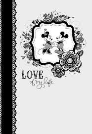 love mickey minnie anniversary card greeting