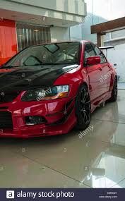 mitsubishi lancer evo modified mitsubishi lancer evo ix after modification in the showroom of u2