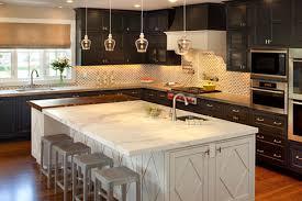 Stylish Kitchen Cabinets 25 Oustanding Dark Kitchen Cabinets Creativefan