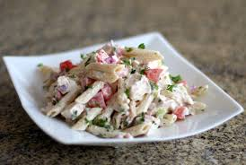 pasta salad with chicken and bacon recipe