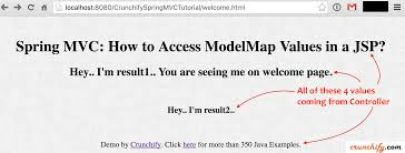 Request Mapping Spring Mvc How To Access Modelmap Values In A Jsp Get Values