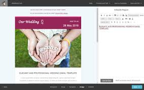 mailchimp wedding template weddinng