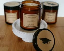 graduation candles handmade soy candles for weddings party by candlesbynature