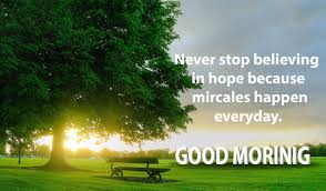 good morning hope quote good morning quotes and images hd beautiful postive happy 99