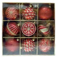 home accents 80 mm ornament assortment 75