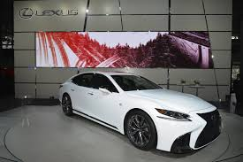 lexus luxury sports car new york 2017 lexus ls f sport gtspirit