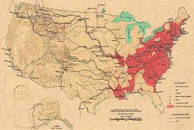 map usa in 1800 the kolbe foundation historical map collection america