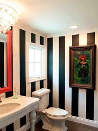 Striped Bathroom Walls Bathroom Mesmerizing Ideas About Black White Stripes And Striped