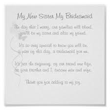 asking of honor poem bridesmaid poem print pinteres