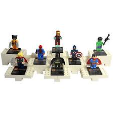 marvel cake toppers 8 pcs lot minifigure building blocks marvel mini figure