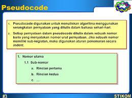 membuat flowchart kegiatan sehari hari algoritma 3 april pseudocode flowchart 3 stikom ppt download