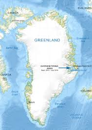 Greenland On World Map by About En