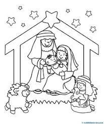 jezus geboren knutselen met kleuter nativity preschool