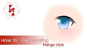 clip studio paint manga studio how to eye coloring eng ver