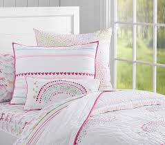 Juliette Bed Pottery Barn Rainbow Quilted Bedding Pottery Barn Kids Room Decor