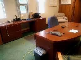 wood veneer desks u0026 suites used office furniture catelog