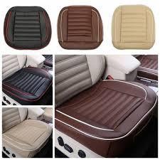 car chair covers 50x50cm pu leather car cushion seat chair cover black beige coffee