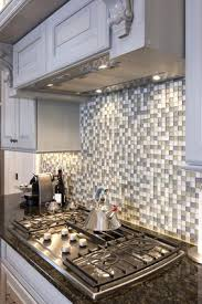 Glass Tile Backsplash - Square tile backsplash