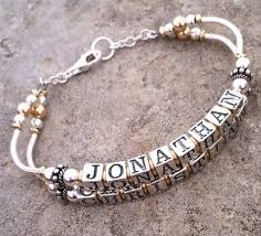 bracelet name beads images 98 best alphabet beads bracelet images alphabet jpg