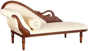 Victorian Sofa Reproduction Swan Fainting Couches Upholstered Chaise Lounges Victorian