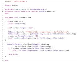 Map Mas Ios How To Use Openstreetmap On Ios 7 In 7 Lines Of Code Glimsoft