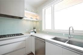 Sea Glass Design Kitchen Modern With Range Hood Tile Kitchen - Sea glass backsplash