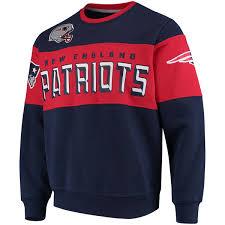 patriots sweater s patriots g iii navy wildcat crew sweater