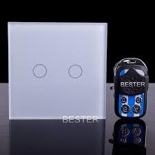 z wave light remote control indoor crystal glass panel z wave wireless remote control light