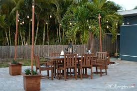 post to hang string lights diy outdoor string light pole poles to hang string lights best of