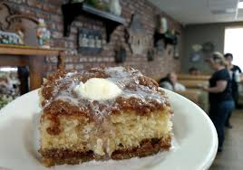 the story behind the coffee cake at carolyn u0027s cafe in redlands