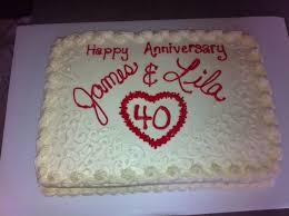 best 25 40th anniversary cakes ideas on pinterest 40th wedding