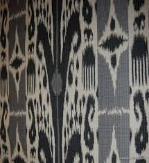 Black And White Check Upholstery Fabric Ikat Suzani Suzanni Mud Cloth Ethnic Tribal Print Fabrics